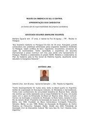 america do sul.pdf - Brasileiros no Mundo - Ministério das Relações ...