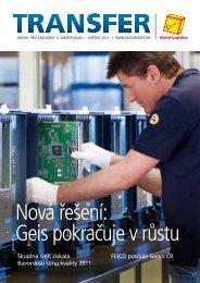 Časopis Transfer - květen 2011 - Geis CZ