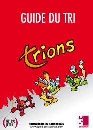 Guide du tri (pdf) - Communauté d'Agglomération du Soissonnais