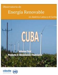 Cuba - Observatory for Renewable Energy in Latin America and
