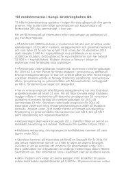Till medlemmarna i Kungl. Drottningholms GK - CMS Office