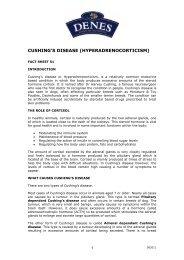 cushing's disease (hyperadrenocorticism) - Denes Natural Pet Care