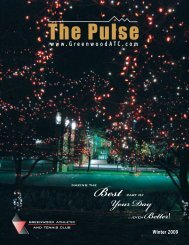 The Pulse - Greenwood Athletic Club