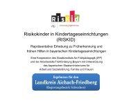 Aichach-Friedberg - Arbeitsstelle Frühförderung Bayern