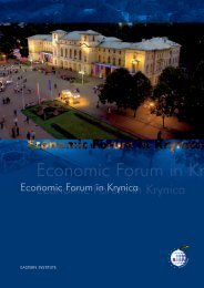 Economic Forum in Kr - Consulting News Line