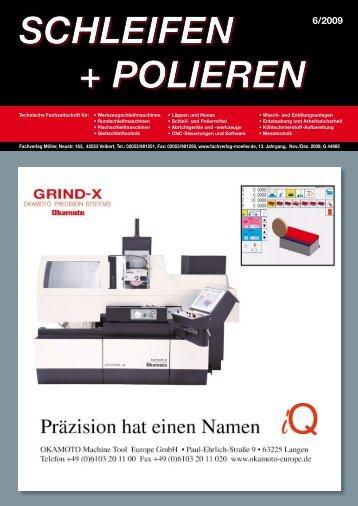 Prozessoptimierung für das Schleifen von HSS ... - oelheld GmbH