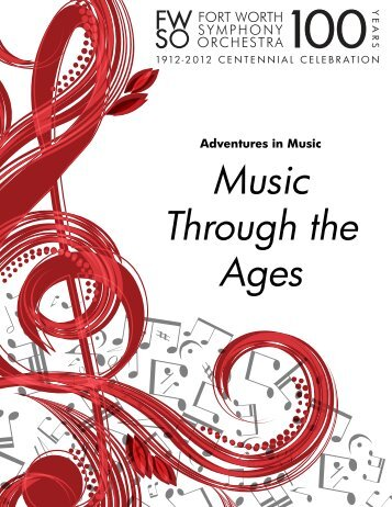 Music Through the Ages - Fort Worth Symphony Orchestra