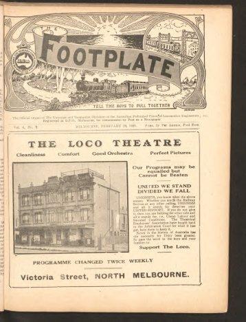 The Footplate: vol. 4, no. 2 (February, 1921)