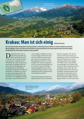 Krakau: Man ist sich einig - Gemeindestrukturreform - Steiermark