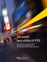 The power (and utility) of IFRS - Ernst & Young