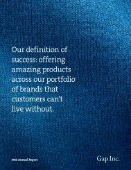 Annual Report - Gap Inc.