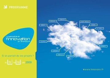PROGRAMME - Bretagne Innovation