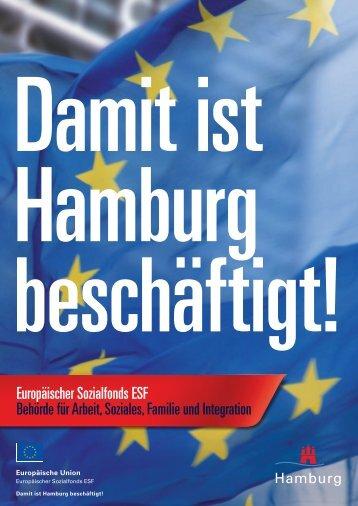 ESF-Imagebroschüre - ESF für Jugendliche - ESF in Hamburg