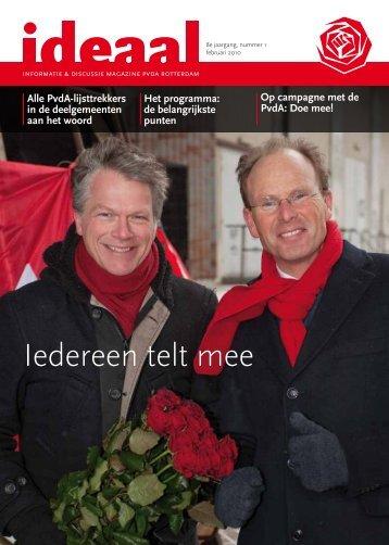 ideaal februari 2010 verkiezingsspecial.pdf - PvdA Rotterdam