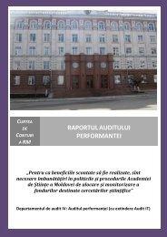 Anexa - Academia de Ştiinţe a Moldovei