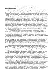 Plevele ve slunečnici a strategie ochrany - VP Agro