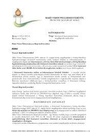 Köztemető fenntartására kötött megállapodás módosítása - Makó