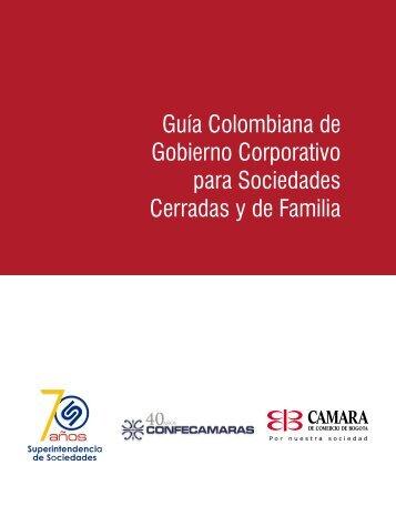 Guía Colombiana de Gobierno Corporativo para Sociedades ... - Inicio