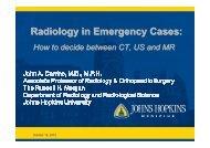 John Carrino MIR 2012 Radiology in Emergency Cases - MIR-Online