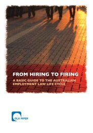 FROM HIRING TO FIRING - The Lawyer