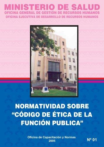 cod. etica.pdf - Bvs.minsa.gob.pe - Ministerio de Salud
