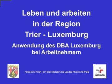 PDF Information für Arbeitnehmer - Diegrenzgaenger.lu