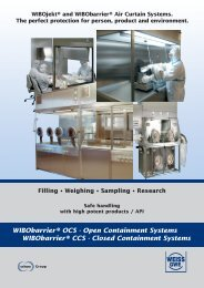 WIBObarrier® OCS - Open Containment Systems WIBObarrier ...