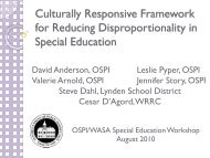 Culturally Responsive Framework for Reducing Special Education ...