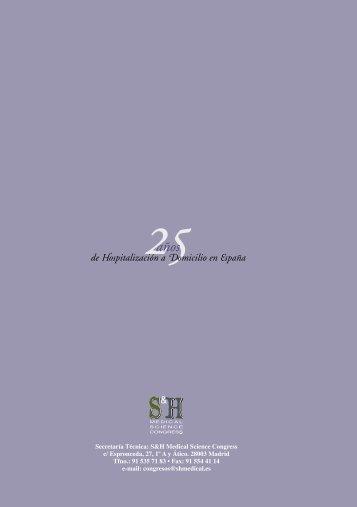 VIII Congreso Nacional de Hospitalización a Domicilio - Sociedad ...