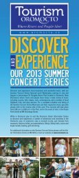 Summer Concert Series - Town of Oromocto