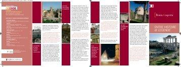 ENTRE HISTOIRE et LEGENDE - Roma