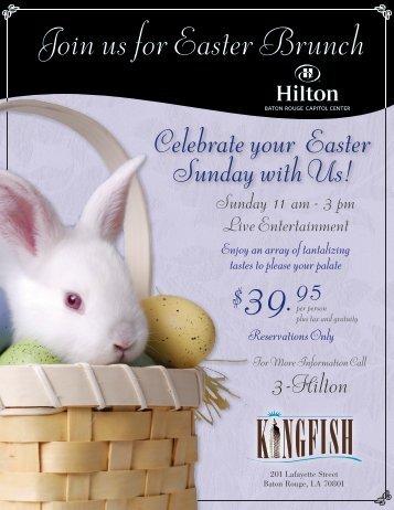 Hilton Easter Brunch