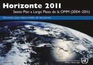Horizonte 2011 - E-Library - WMO