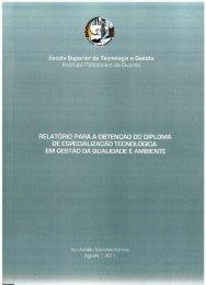 2011 - Biblioteca Digital do IPG - Instituto Politécnico da Guarda