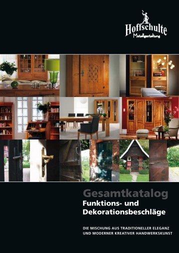 Gesamtkatalog Funktions- und ... - Hoffschulte Metallgestaltung GmbH