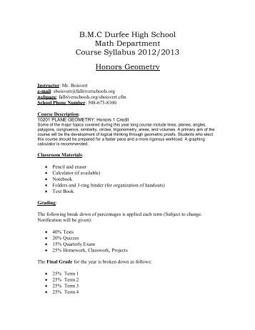 Blank Syllabus Template  BesikEightyCo