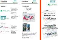 USER-Konferenz InForum Version 3, Management Planet