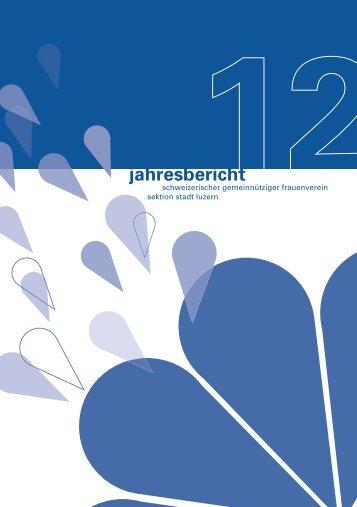 Jahresbericht 20012 in PDF-Format - Schweizerischer ...