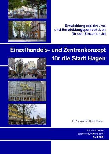 Einzelhandels- und Zentrenkonzept - Hagen