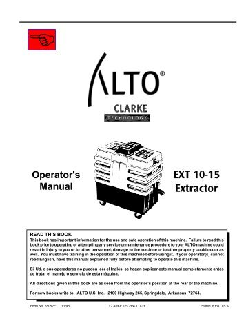 EXT 10-15 Extractor - AbeJan Online Catalog