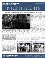 NIGHTLIGHTS - The Night Ministry