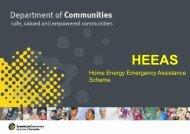 Home Energy Emergency Assistance Scheme (HEEAS)