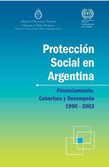 Protección social en Argentina. - Ministerio de Economía
