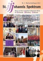 Heft Mai - Aug. 2012 - St. Johannis Bemerode