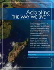 Chapter 2: Adapting the way we live - CSIR