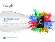 Our Mobile Planet: Brazil - Mobile Marketing Association