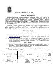 Edital de Abertura do Concurso Público nº 002/2012 - Prefeitura de ...