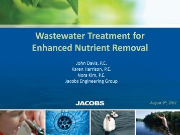 Davis & Harrison & Kim.Jacobs.Wastewater Treatment for Enhanced ...