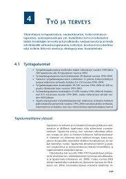 4. Työ ja terveys - Työterveyslaitos