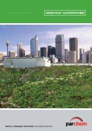 green roof waterproofing - Parchem
